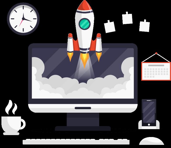 gestão de tempo e produtividade-samsys-skyrocket