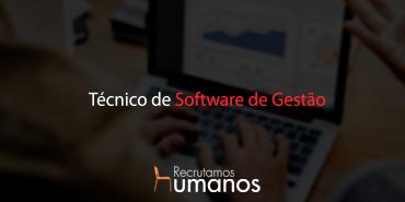 Técnico Software de Gestão